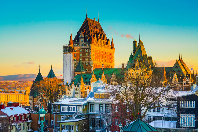 Quebec City charter bus rentals