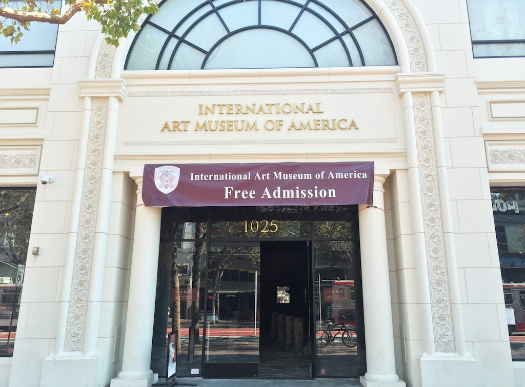 International Art Museum of America charter bus rentals in San Francisco