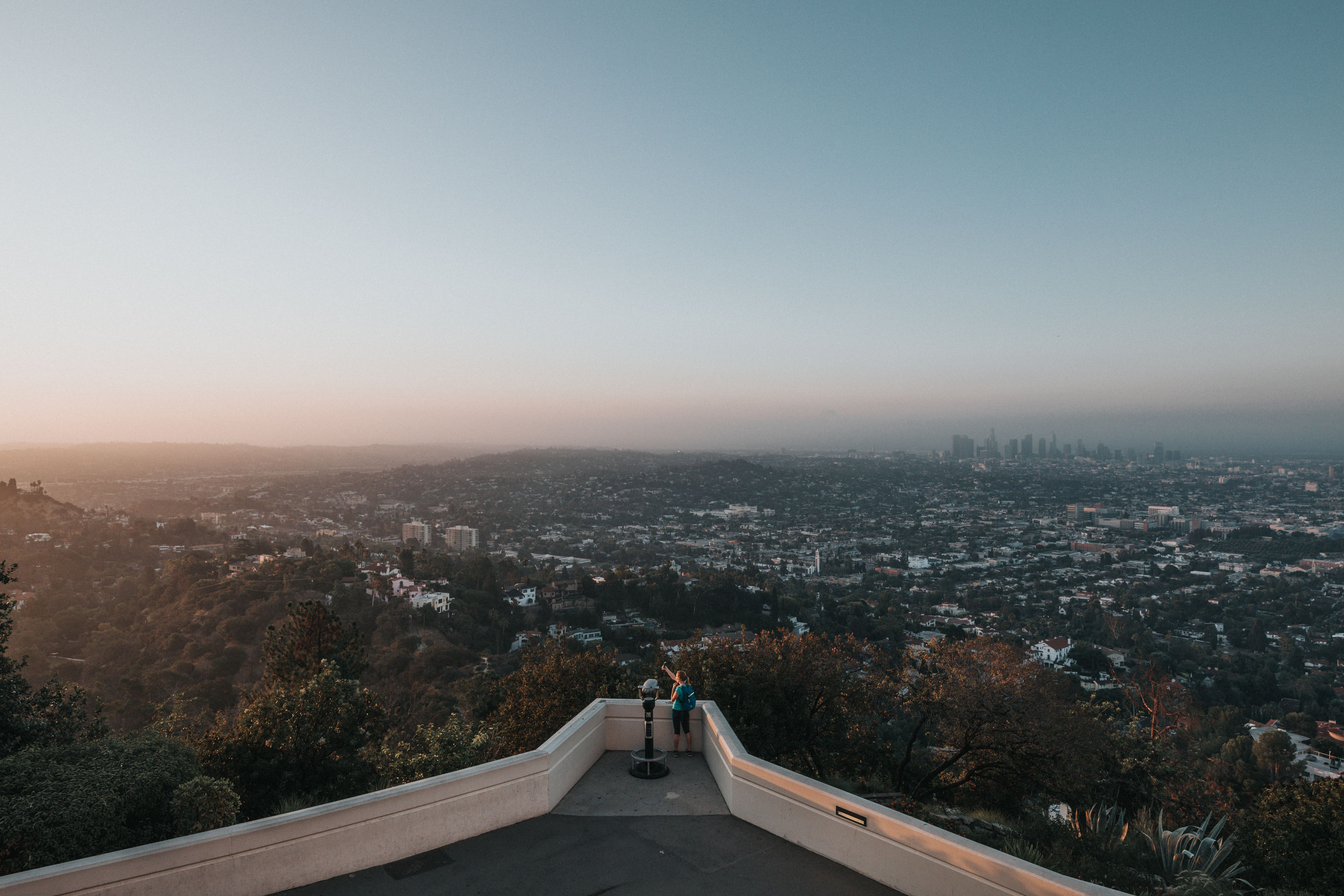 Griffith Observatory chart bus rentals
