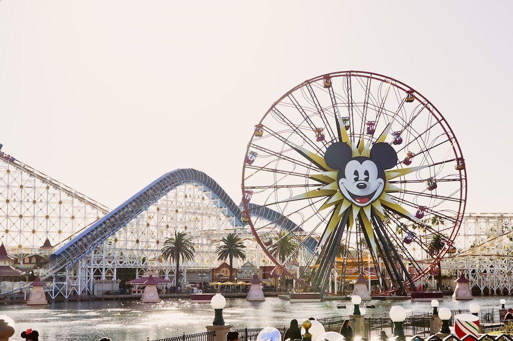 Disneyland charter bus rentals