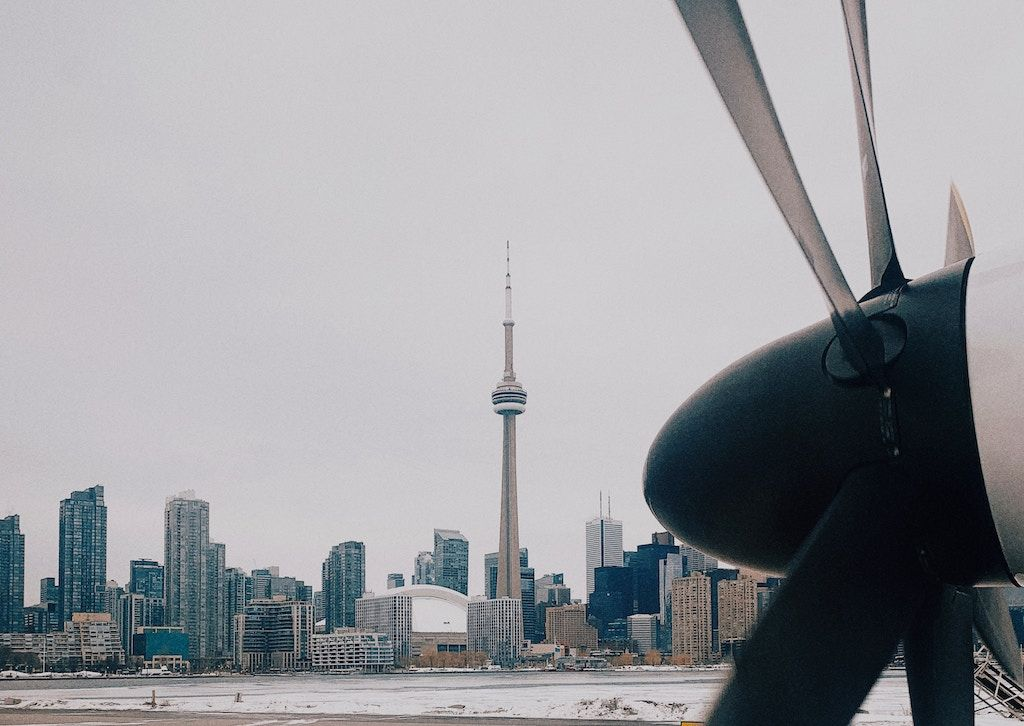 Charter a bus to Billy Bishop Airport