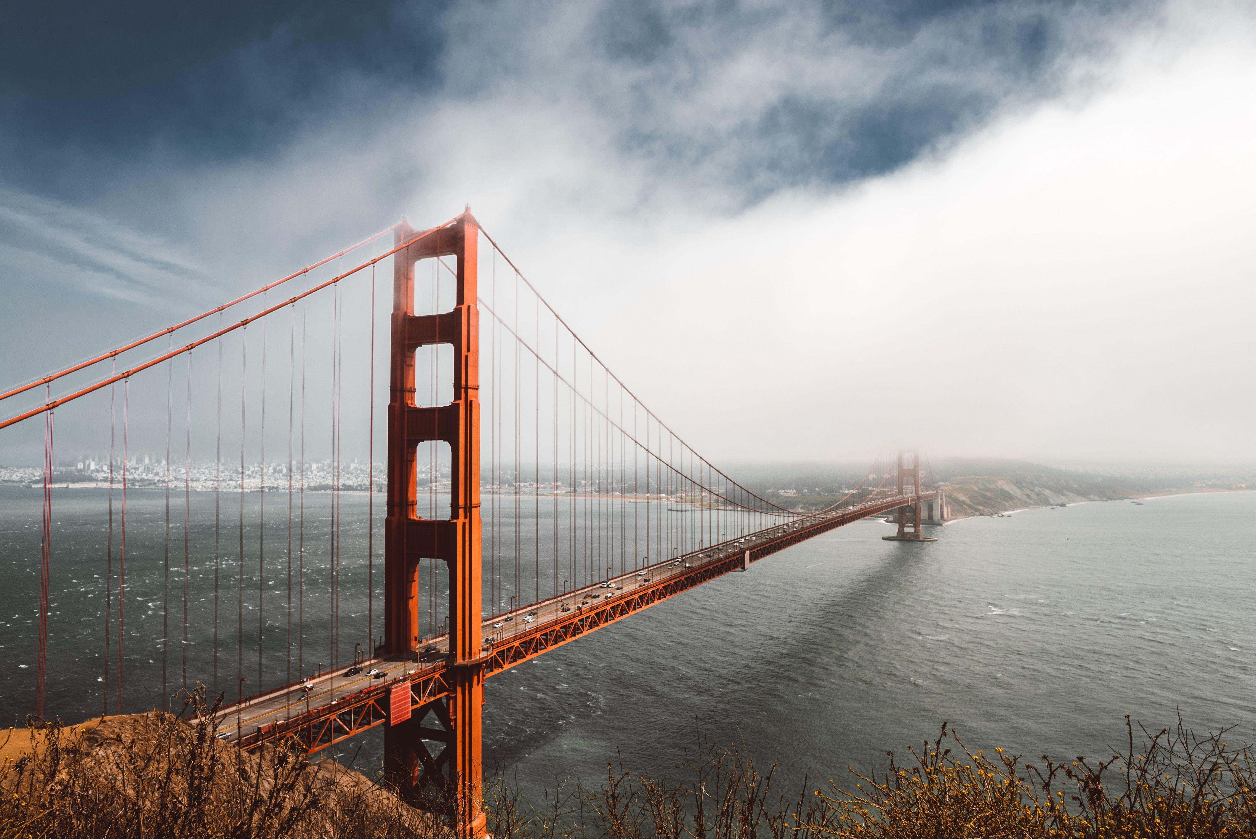 Golden Gate Bridge charter bus rentals