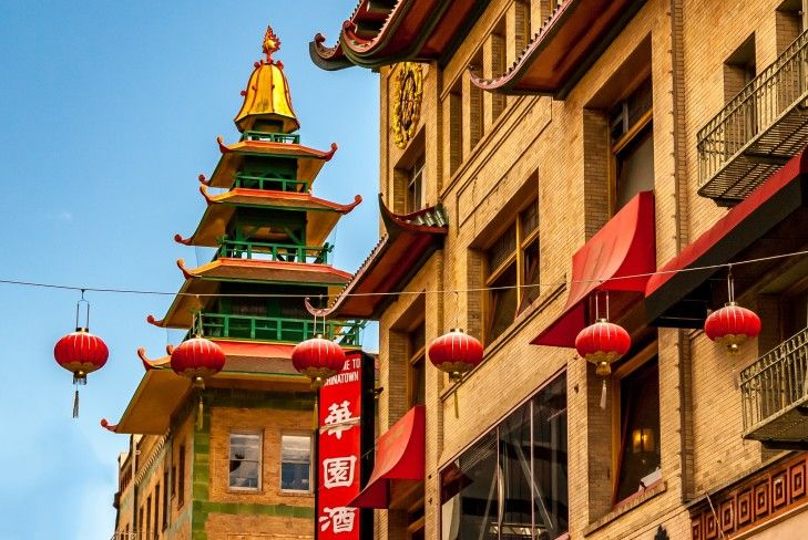 SF Chinatown charter bus rentals
