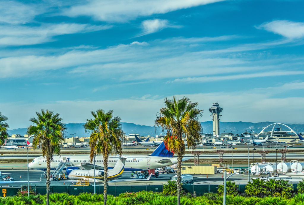 Charter a bus to LAX Airport