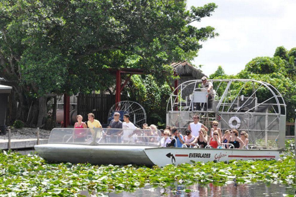 Everglades Safari Park charter bus rentals