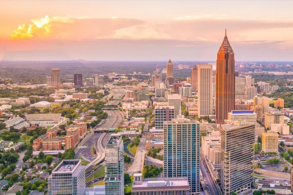 Atlanta charter bus rentals