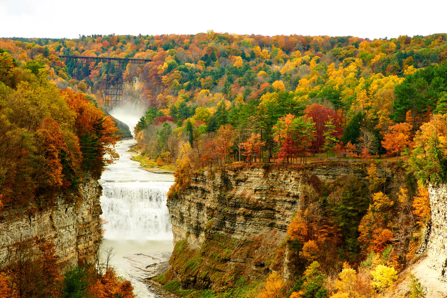 Camping Destinations Near New York to Explore this Fall