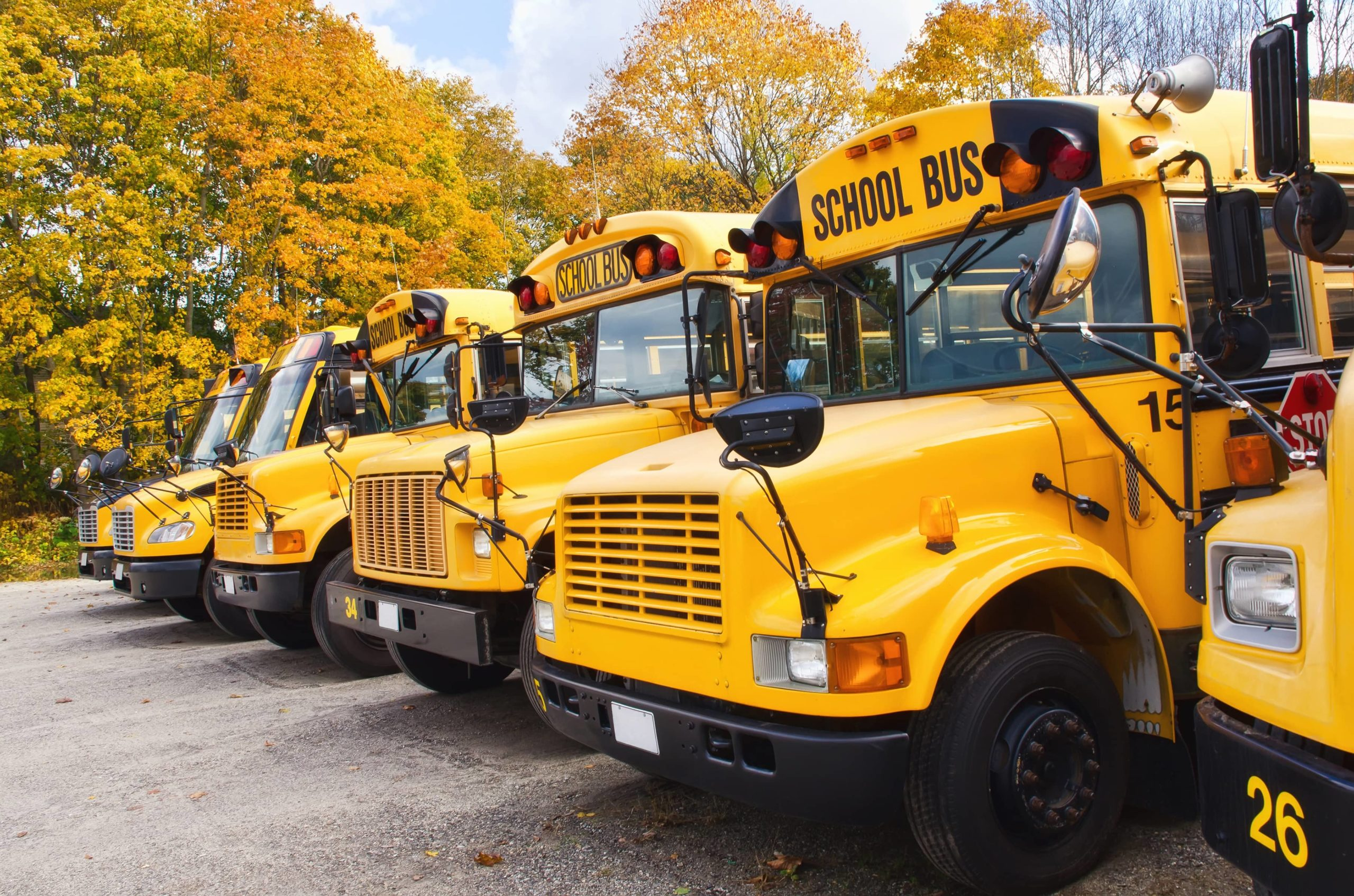 Deciding on a school bus charter rental is the first step.