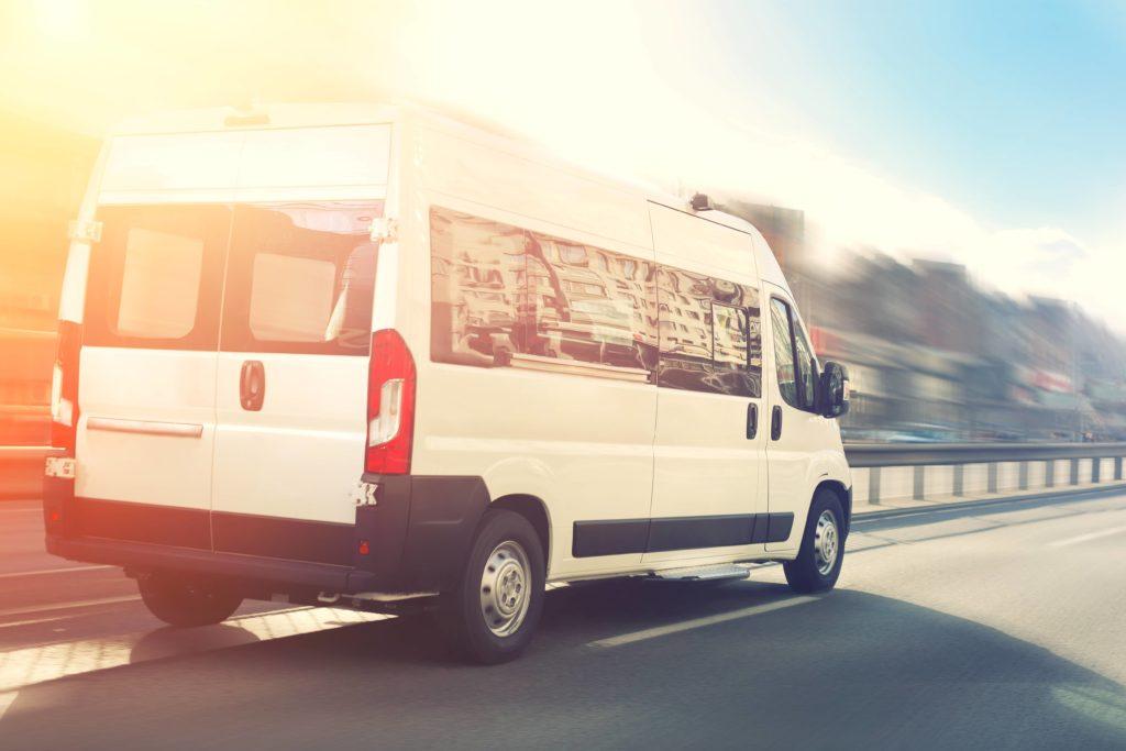 Passenger vans make for efficient and affordable employee shuttles.